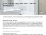DOING BATHTUB REFINISHING WITH EXPERTS IN SACRAMENTO CA.