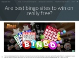 Are best bingo sites to win on really free?