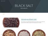 BLACK SALT | Baker and Baker salts