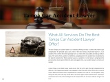 What All Services Do The Best Tampa Car Accident Lawyer Offer?