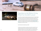 Questions to Ask Before Hiring Miami Car Accident Lawyer