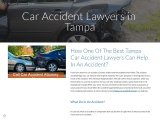 How One Of The Best Tampa Car Accident Lawyers Can Help In An Accident?