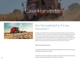 Are You Looking For A Case Harvester?