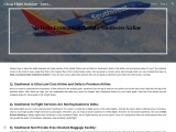 Is Delta Economical than the Southwest Airline