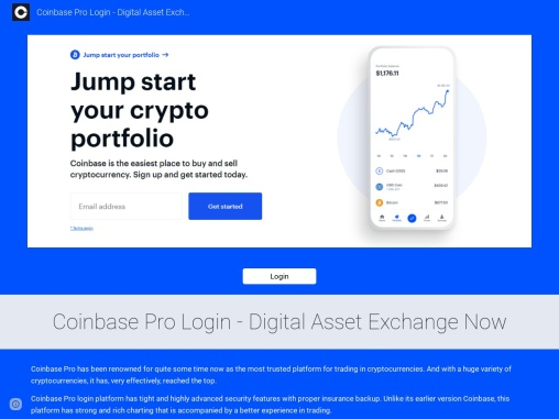 A Guide To Better Your Coinbase Pro Login
