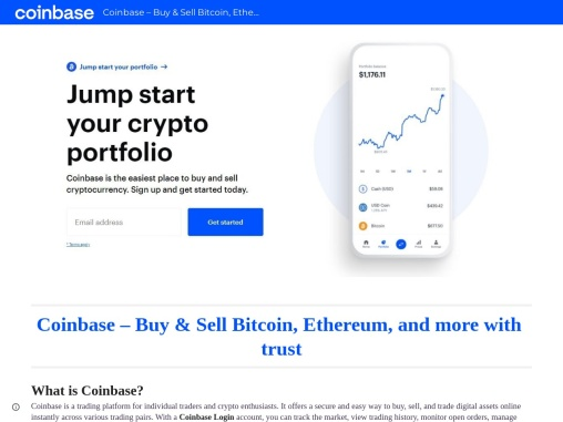 Thing to know about Coinbase Login