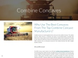 Why Use The Best Concaves From The Top Combine Concave Manufacturers?
