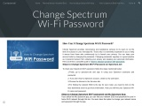 How Can I Change Spectrum Wi-Fi Password?