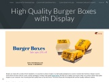 Buy Burger boxes with free Shipping in USA