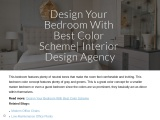 Use Decorate Your Bedroom With Best Color Scheme | Decor La Rouge | Interior Design Agency