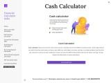 Financial Calculator India – Cash Calculator