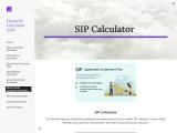 Financial Calculator India – Mutual Fund Lumpsum Calculator