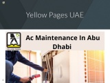 Best Ac Maintenance In Abu Dhabi   Ac Maintenance Dubai