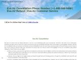 Eva Air Cancellation Policy   Refund Policy