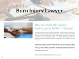 Why You Must Hire A Burn Injury Lawyer To Win The Case?