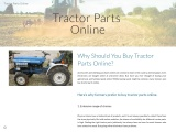 Why Should You Buy Tractor Parts Online?