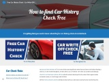 Free Car History Check – CarDotCheck®