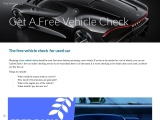 Free Vehicle Check for second hand buyers