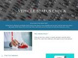 Check my vehicle status – CarDotCheck