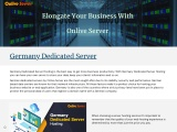 Shape up Your Website with Germany Dedicated Server