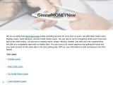 Payday Loans Service at Affordable Rate: GimmeMONEYNow
