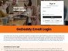 How to use the Login page that is similar to GoDaddy email login?