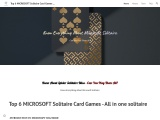 microsoft solitaire collection cheats