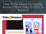 Increase Amazon Store Sales In 2021