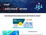 How To Become Better Your Business With Israel Dedicated Server Hosting