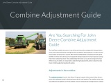 Are You Searching For John Deere Combine Adjustment Guide