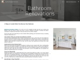 4 Things to Consider Before You Renovate Your Bathroom