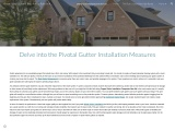 Delve into the Pivotal Gutter Installation Measures