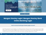 How To Find and Use Your Morgan Stanley Login