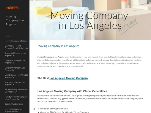 packing companies for moving los angeles