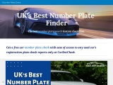 Car Plate Check – Number Plate Lookup
