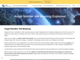 The Meaning of Divine Number 444 in Numerology