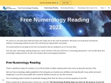Free Numerology Report