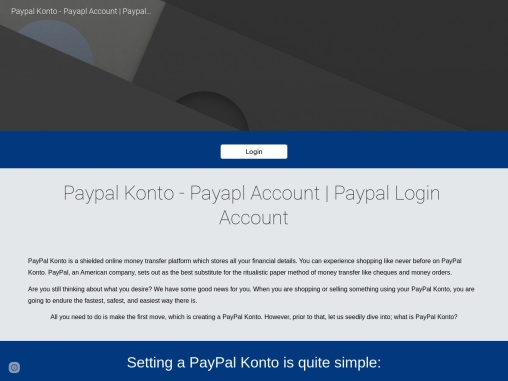 How do I recover my PayPal konto?