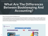 Differences between Bookkeeping and Accounting?