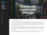 Why do we use PPR pipe clamps?