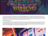 Best Bingo Games To Play For Free Online