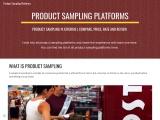 what is product sampling platform