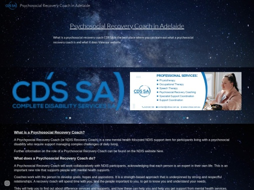 Complete Disability Services SA | support coordination in Adelaide