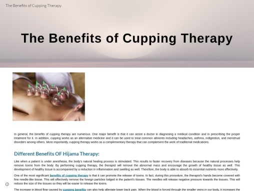 Benefits of Hijama For Ladies – How Hijama Can Cure Ladies Health Problems?