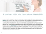 Energy Saver AC Parts for Ensuring Lower Electrical Bills