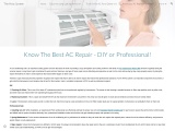Know The Best AC Repair – DIY or Professional!