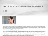 Acne Herbal Remedies – Herbal Treatment for Acne Vulgaris