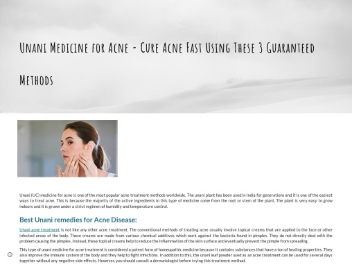 Herbs for Acne – Acne Vulgaris Treatment at Home