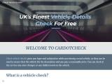 Check Vehicle DVLA – CarDotCheck