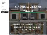 Sindhuja Greens freehold Duplex villa, Sindhuja Greens Independent villa in Noida, Sindhuja Greens V